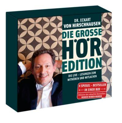 Die große Hör-Edition, 4 Audio-CDs, Eckart von Hirschhausen