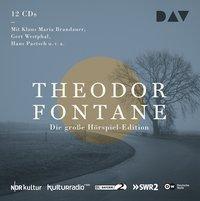 Die große Hörspiel-Edition, 12 Audio-CDs, Theodor Fontane