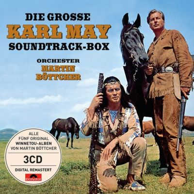 Die große Karl May Soundtrack-Box (3 CDs), Martin Böttcher