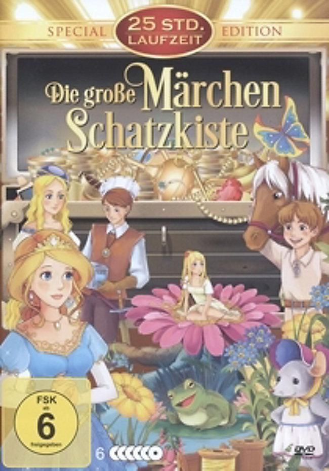Die große Märchen Schatzkiste DVD-Box DVD   Weltbild.de
