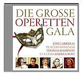 Die Grosse Operettengala, Domingo, Carreras, Hampson, Lind, Rost