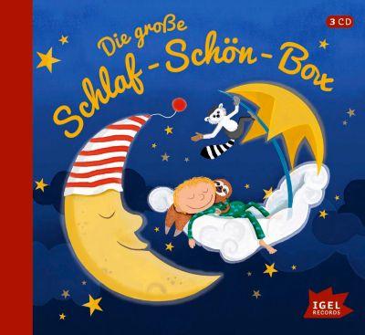 Die große Schlaf-schön-Box, 3 Audio-CDs, Erhard Dietl, Marliese Arold, James Krüss