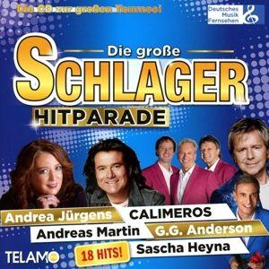 Die grosse Schlager Hitparade, Diverse Interpreten