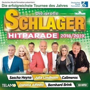 Die Große Schlager Hitparade 2018/2019, Diverse Interpreten