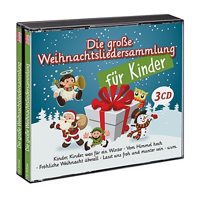die gro e weihnachtslieder sammlung f r kinder g nstig. Black Bedroom Furniture Sets. Home Design Ideas