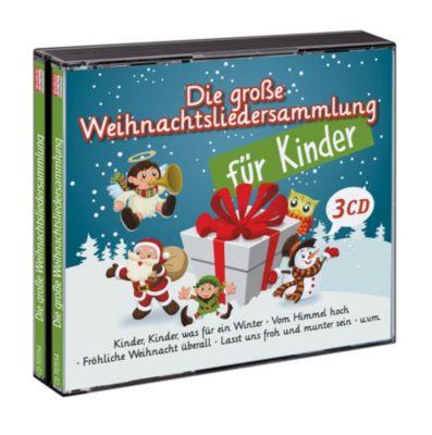 Die große Weihnachtslieder Sammlung für Kinder