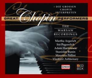 Die Grossen Chopin-Interpreten, Argerich, Pogorelich, Bunin, Pollini