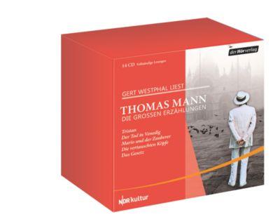 Die großen Erzählungen, 14 Audio-CDs, Thomas Mann