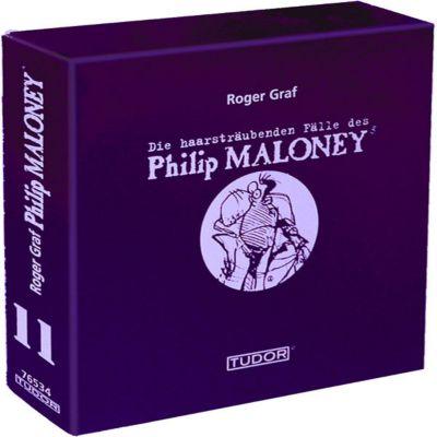 Die haarsträubenden Fälle des Philip Maloney - Box 11, Hörbuch, Roger Graf