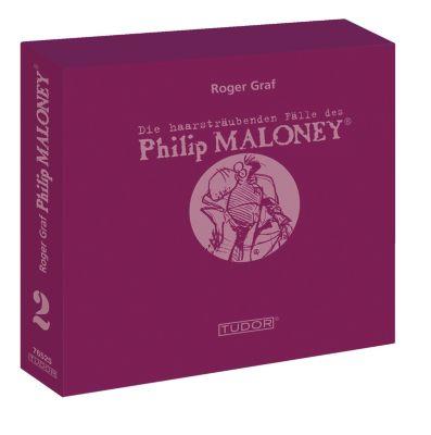 Die haarsträubenden Fälle des Philip Maloney - Box 2, Hörbuch, Roger Graf