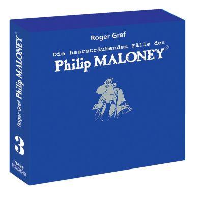 Die haarsträubenden Fälle des Philip Maloney - Box 3, Hörbuch, Roger Graf