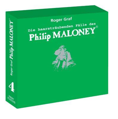 Die haarsträubenden Fälle des Philip Maloney - Box 4, Hörbuch, Roger Graf