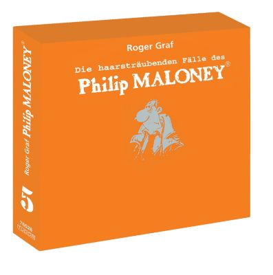 Die haarsträubenden Fälle des Philip Maloney - Box 5, Hörbuch, Roger Graf