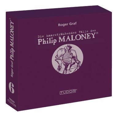 Die haarsträubenden Fälle des Philip Maloney - Box 6, Hörbuch, Roger Graf