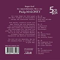 Die haarsträubenden Fälle des Philip Maloney - Box 6, Hörbuch - Produktdetailbild 1