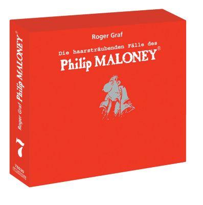 Die haarsträubenden Fälle des Philip Maloney - Box 7, Hörbuch, Roger Graf