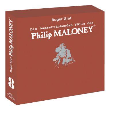 Die haarsträubenden Fälle des Philip Maloney - Box 8, Hörbuch, Roger Graf
