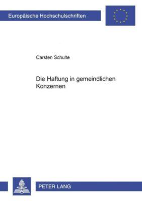 Die Haftung im gemeindlichen Konzern, Carsten Schulte