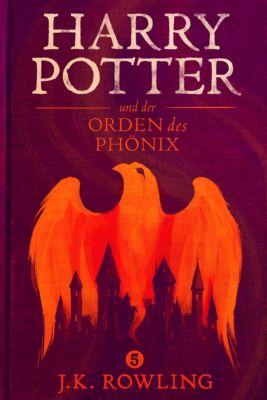 Die Harry-Potter-Buchreihe: Harry Potter und der Orden des Phönix, J.K. Rowling