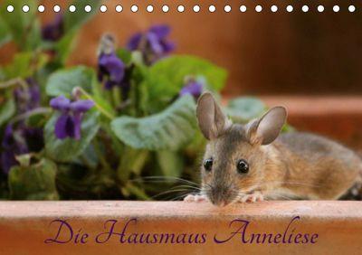 Die Hausmaus Anneliese (Tischkalender 2019 DIN A5 quer), Heike Hultsch