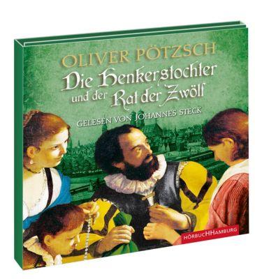 Die Henkerstochter und der Rat der Zwölf, 2 MP3-CDs, Oliver Pötzsch