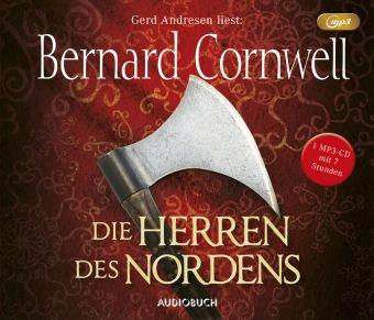Die Herren des Nordens, 1 MP3-CD, Bernard Cornwell