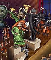 Die Hexe und der Maestro, m. Audio-CD - Produktdetailbild 2