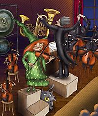 Die Hexe und der Maestro, m. Audio-CD - Produktdetailbild 1