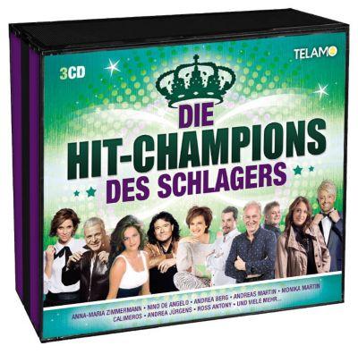 Die Hit-Champions des Schlagers (3CD-Box), Diverse Interpreten