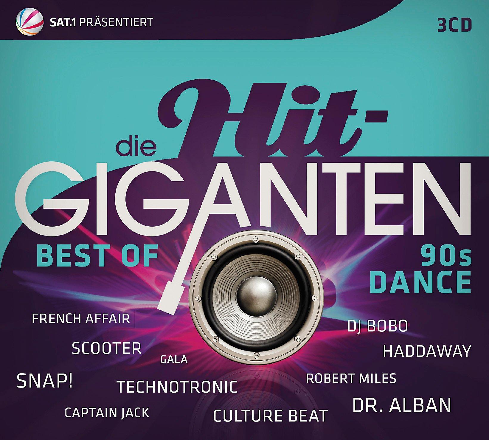 Hit Giganten Weihnachten.Die Hit Giganten Best Of 90s Dance 3 Cds Von Various Weltbild At