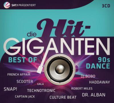 Die Hit-Giganten - Best Of 90s Dance (3 CDs), Various
