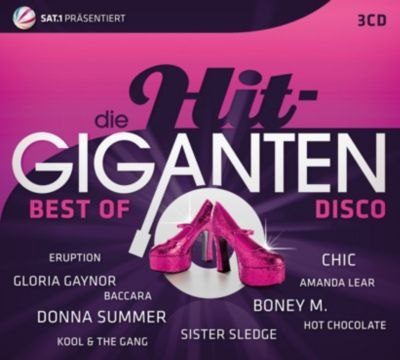 Die Hit Giganten Best Of Disco, Various