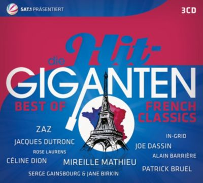 Die Hit Giganten Best of French Classics, Various