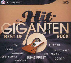 Die Hit-Giganten - Best Of Rock, Diverse Interpreten