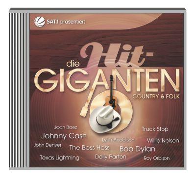 Die Hit-Giganten - Country & Folk, Diverse Interpreten