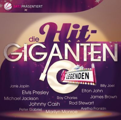 Die Hit-Giganten - Legenden, Diverse Interpreten