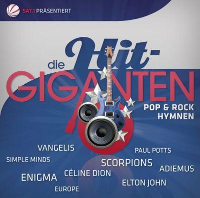 Die Hit-Giganten - Pop- & Rock-Hymnen, Diverse Interpreten