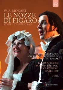 Die Hochzeit Des Figaro (Teatro Real 2009), Ludovic Tezier, Barbara Frittoli, Luca Pisaroni