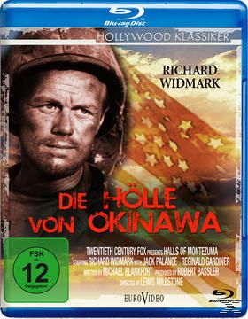 Die Hölle von Okinawa, Richard Widmark, Jack Palance