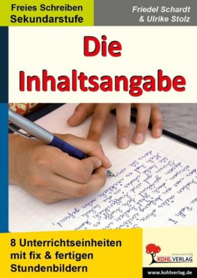 Die Inhaltsangabe, Ulrike Stolz, Friedel Schardt