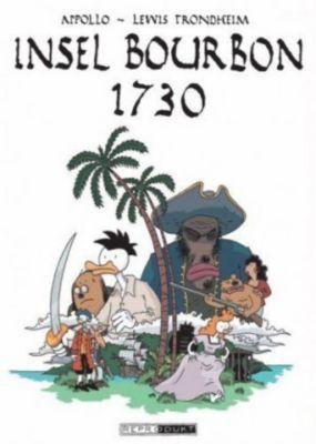Die Insel Bourbon 1730, Appollo, Lewis Trondheim