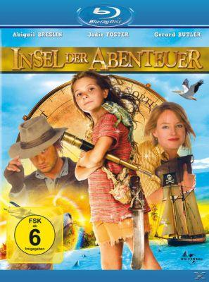 Die Insel der Abenteuer, Jodie Foster,Gerard Butler Abigail Breslin