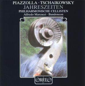 Die Jahreszeiten, Marcucci, Stefaniak, Philharmonische Cellisten