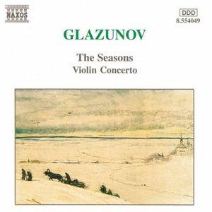 Die Jahreszeiten/Violinkonzert, Ilya Kaler, C. Kolchinsky, Prso