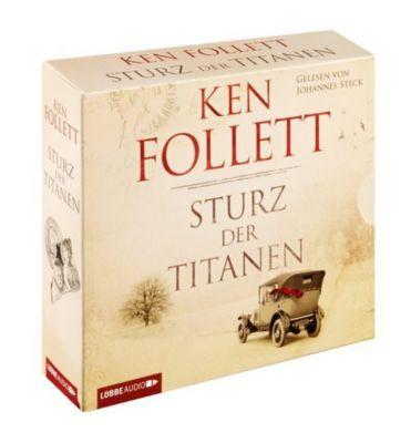 Die Jahrhundert-Saga Band 1: Sturz der Titanen (12 Audio-CDs), Ken Follett