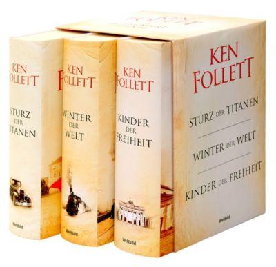 Die Jahrhundert-Trilogie Sturz der Titanen/Winter der Welt/Kinder der Freiheit, Ken Follett