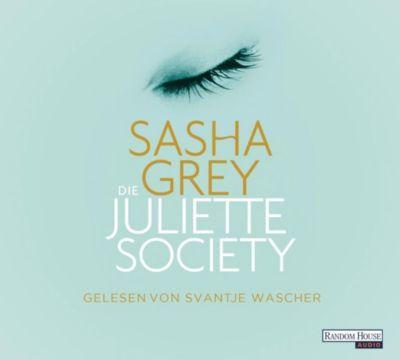 Die Juliette Society, 6 Audio-CDs, Sasha Grey