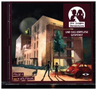 Die jungen Detektive und das kopflose Gespenst, 1 Audio-CD, Rita Russek, Dieter Hallervorden, Hannelore Hoger, ++