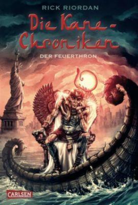 Die Kane-Chroniken, Band 2: Der Feuerthron, Rick Riordan