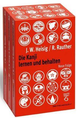 Die Kanji lernen und behalten, 1 - 3 Bdn., James W. Heisig, Robert Rauther